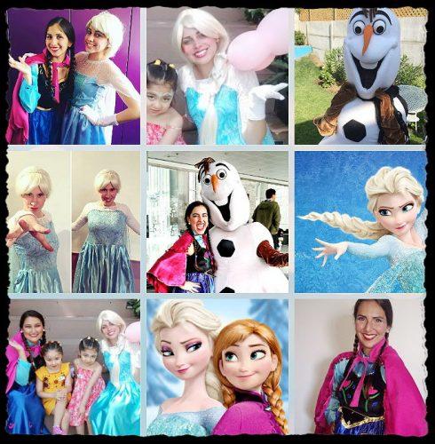 Frozen: Elsa, Anna y Olaf