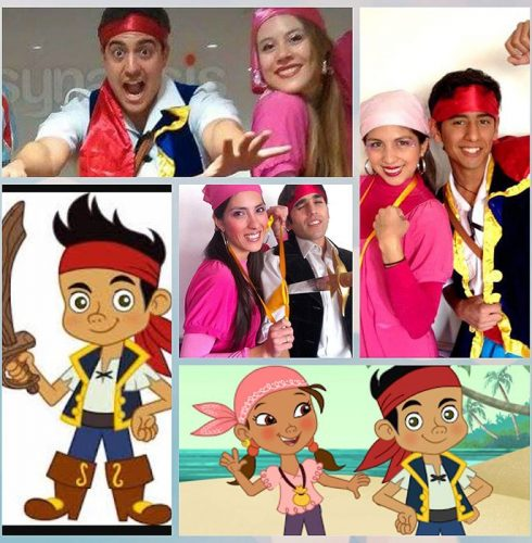 Piratas Nunca Jamás: Jake & Izzy