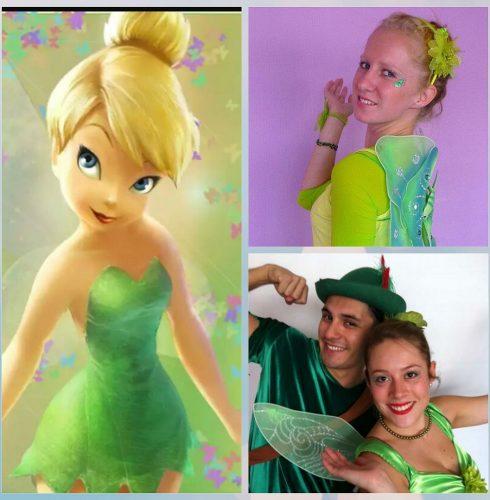 Tinkerbell y Peter Pan
